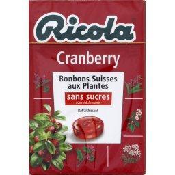 Bonbons Cranberry sans sucres