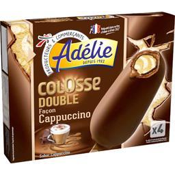 Colosse - Bâtonnets de glace Double façon Cappuccino