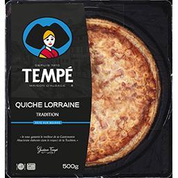Tempé Quiche Lorraine Tradition