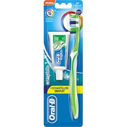 Complete - Brosse à dents 5 Zones Action medium & dentifrice