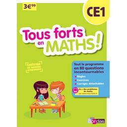 Tous forts en Maths ! CE1