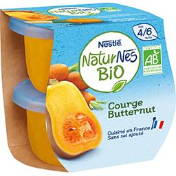 Courge Butternut BIO, dès 4/6 mois
