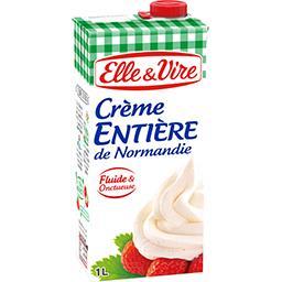 Crème entière de Normandie