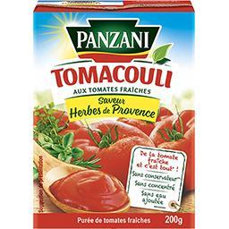 Tomacouli - Purée de tomates aux herbes de Provence