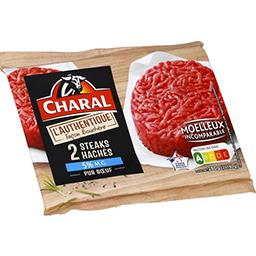 Steak hachés L'Authentique façon bouchère pur bœuf 5...