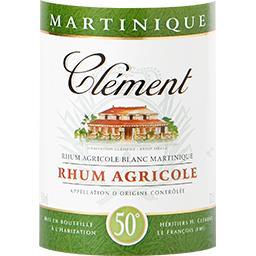 Rhum agricole blanc Martinique