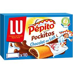Pépito - Biscuits Pockitos chocolat au lait