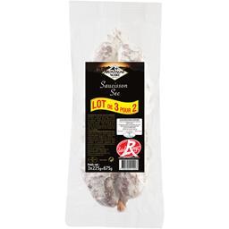 Montagne Noire Saucisson sec Label Rouge les 2 saucissons de 225 g