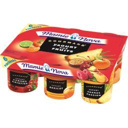 Gourmand - Yaourt aux fruits