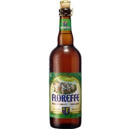 Floreffe Bière blonde la bouteille de 75 cl