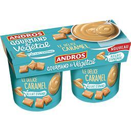 Gourmand & Végétal - Le Délice Caramel au lait d'ama...