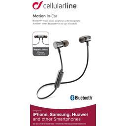 Kit audio intra auriculaire Bluetooth noir