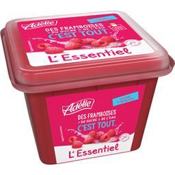 Adélie L'Essentiel - Sorbet framboise le bac de 500 ml