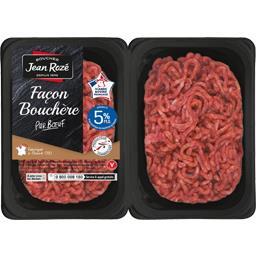 Steaks hachés façon bouchère pur bœuf 5% MG