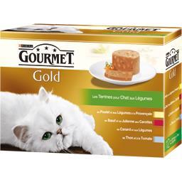 Gold - Les Terrines aux légumes pour chats
