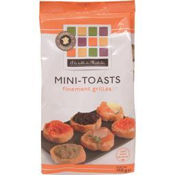 Mini-toasts finement grillés