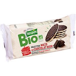 Regain Bio Galettes de maïs nappées chocolat noir BIO le paquet de 100 g