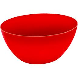 Saladier Caruba 34 cm rouge