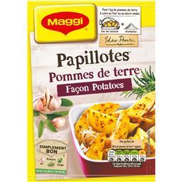 Papillotes - Pommes de terre, façon potatoes