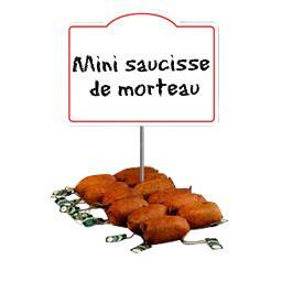 Mini saucisse de Morteau
