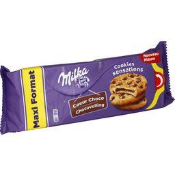 Biscuits Cookies Sensations cœur choco