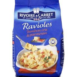 Ravioles jambon cru & parmesan