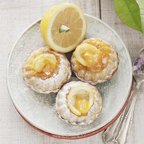 Petits gâteaux très fondants au citron