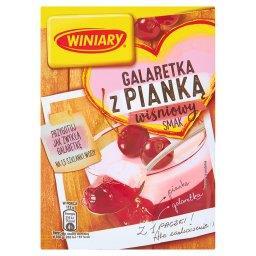 Galaretka z pianką wiśniowy smak