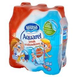 Aquarel smak truskawkowy Napój niegazowany