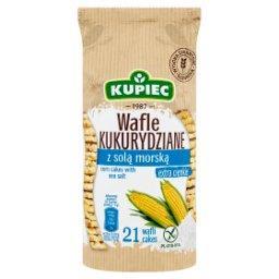 Wafle kukurydziane z solą morską  (21 sztuk)