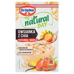 My natural day Owsianka z chia truskawka-wanilia
