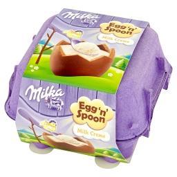 Egg 'n' Spoon Czekolada mleczna z nadzieniem mlecznym 136 g (4 sztuki)