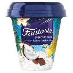 Fantasia Jogurt do picia o smaku kokos i czekolada
