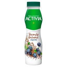 Activia Jogurt siemię lniane jagoda