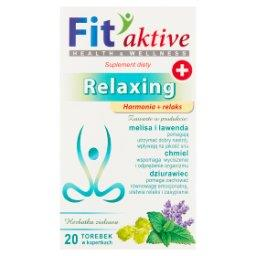 Fit aktive Relaxing Suplement diety herbatka ziołowa  (20 x 2 g)