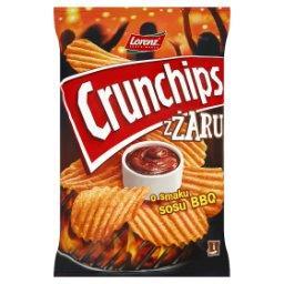 ZŻaru Chipsy ziemniaczane o smaku sosu BBQ