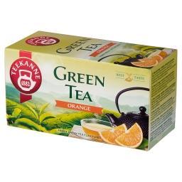 Green Tea Orange Aromatyzowana herbata zielona 35 g (20 x )