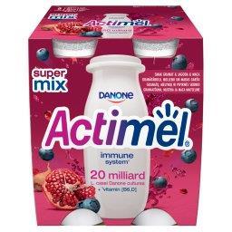Actimel Mleko fermentowane o smaku granat-jagoda-mac...