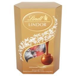Lindor Assorted Pralinki z czekolady z nadzieniem