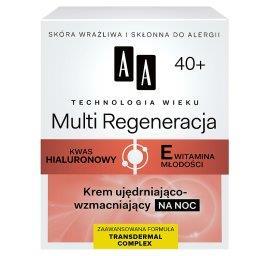 Technologia Wieku 40+ Multi Regeneracja Krem ujędrniająco-wzmacniający na noc