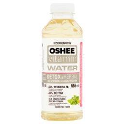 Vitamin Water Detox & Herbal Napój niegazowany o smaku mięty