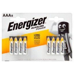 Alkaline Power AAA-LR03 1,5 V Baterie alkaliczne 8 sztuk