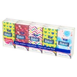 Chusteczki higieniczne 10 x 9 sztuk