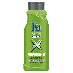 Men Xtreme Refresh 5 Żel pod prysznic