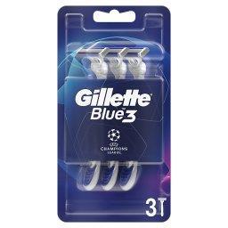 Blue3 Comfort Jednorazowa maszynka do golenia dla mężczyzn, 3 sztuk