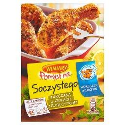 Pomysł na... Soczystego kurczaka w ziołach z nutą cytryny