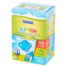 Junior Mleko modyfikowane dla dzieci od 2. roku życia o smaku naturalnym 700 g