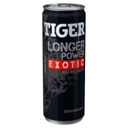 Longer Power Gazowany napój energetyzujący o smaku exotic