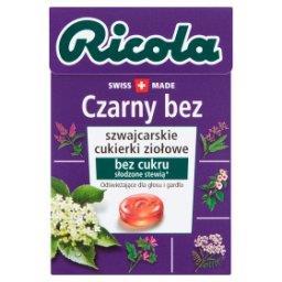 Szwajcarskie cukierki ziołowe czarny bez