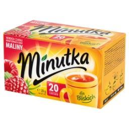 Herbata czarna aromatyzowana o smaku maliny 28 g (20 torebek)